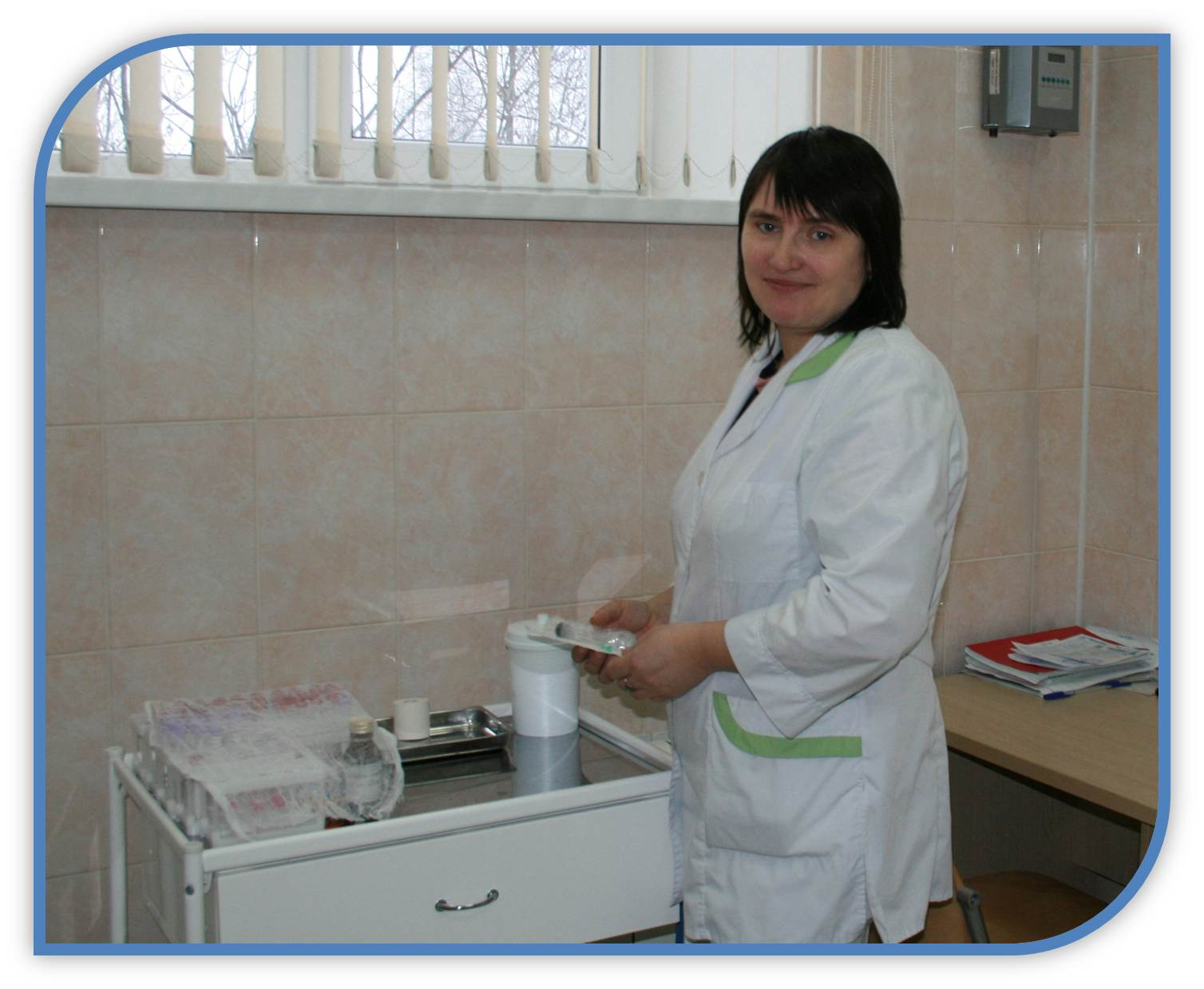 Treatment room Kochetova Galina Y., medical center Shuya